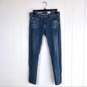 AG The Super Skinny Ankle Legging Blue Jeans